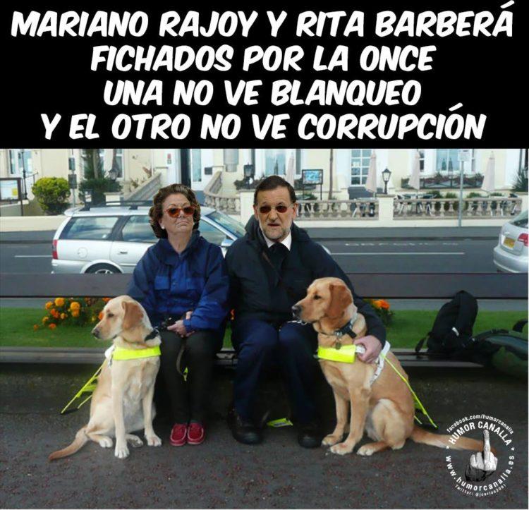 Mariano y Rita, fichados por la ONCE