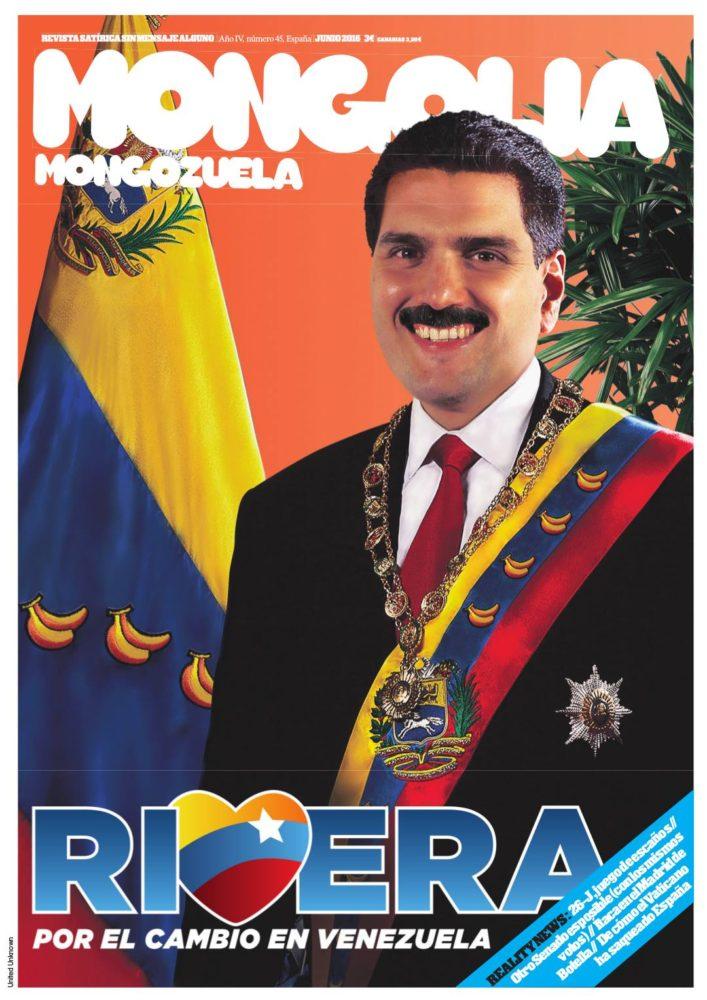 Rivera por el cambio en Venezuela