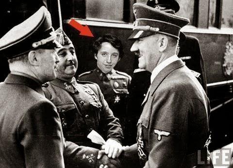 Franco y Hitler en Hendaya