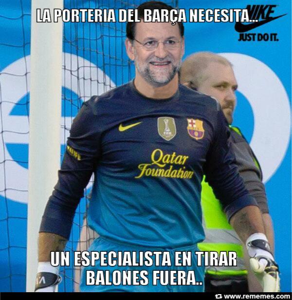 Mariano, nuevo  portero del FC Barcelona