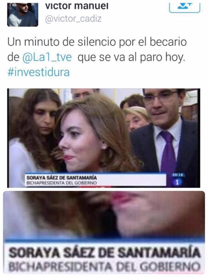 La bichapresidenta de España