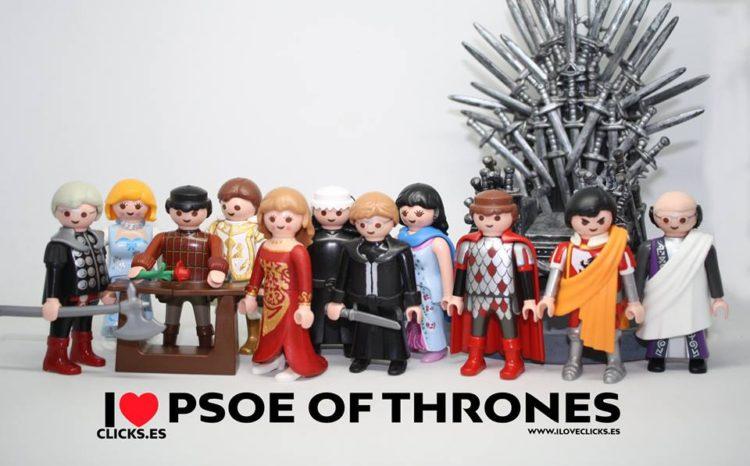 PSOE of Thrones