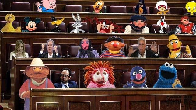 Bancada socialista en el Congreso