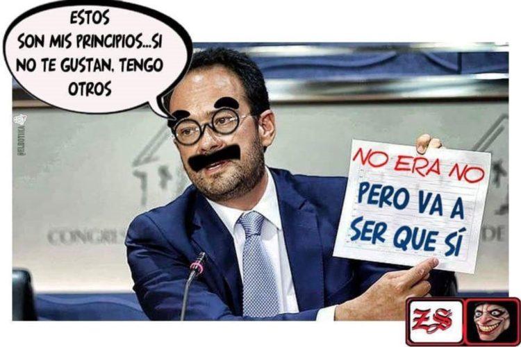 Los principios de Antonio Hernando